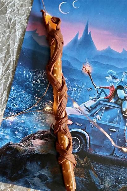 Onward Staff Wizard Disney Pixar Pretzel Rods