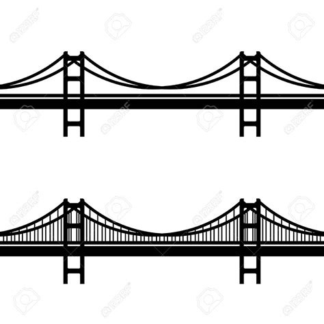 Golden Gate Clipart Suspended Bridge Free Clipart On