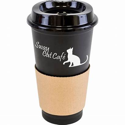 Coffee Reusable Cup Lid Mugs Travel Saver