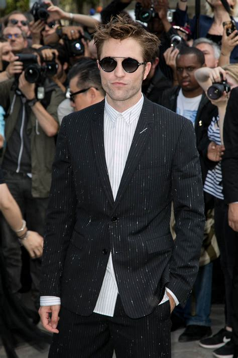 2018 Fashion Show Dior Robert Pattinson