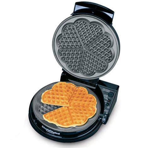 waffle iron heart chef choice maker waffles makers chefs cutleryandmore