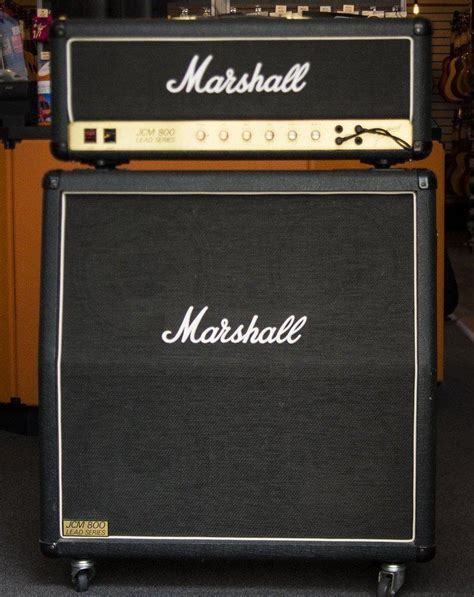 Marshall Jcm 800 4x12 Cabinet by Used Marshall Jcm800 Superlead 4x12 Cabinet
