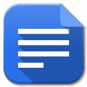 Apps google drive docs icon flatwoken iconset alecive for Google docs app desktop