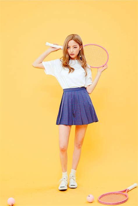 #Icecream12 daily2016 ImBora #tennisskirt   Outfit   Pinterest   Korean Korean fashion and Ulzzang