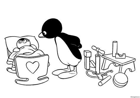 Pingu Kleurplaat pingu kleurplaten kleurplaten eu