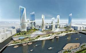 UNStudio Desings New Attraction For China / Waterfront For ...
