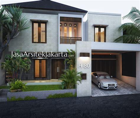 rumah ibu felice luas 380 m2 jasa arsitek jakarta