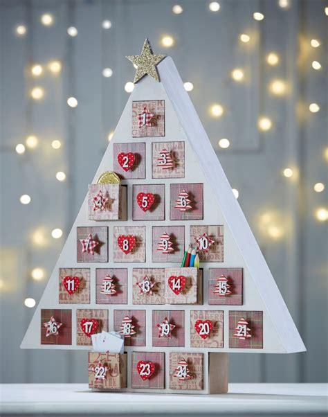 Traditional Advent Calendar Tree  Holiday Ideas
