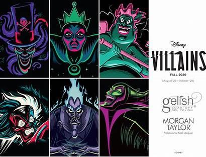Disney Villains Gelish Morgan Taylor Nail