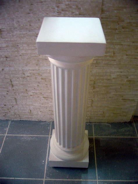 colonne en platre pour decoration interieure colonne en platre pas cher construction maison b 233 ton arm 233