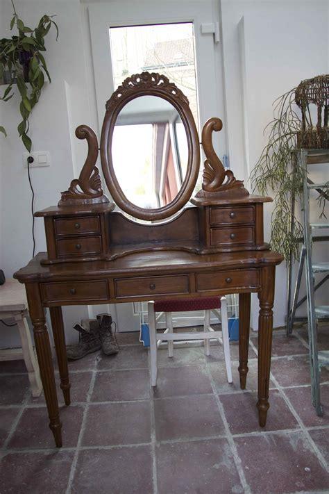 coiffeuse blanche si鑒e avec miroir inclus coiffeuse pas cher meuble maison design modanes com
