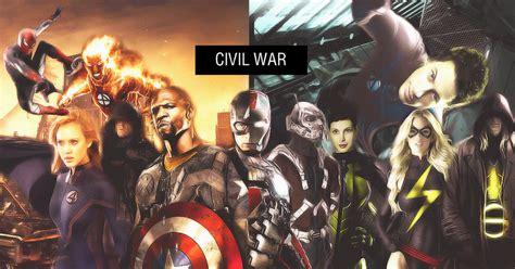 marvel civil war by elmrak on deviantart