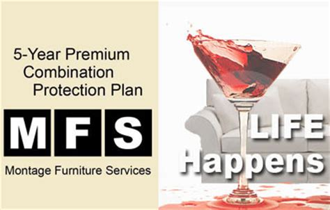 mfs  year furniture protection plan  store sale