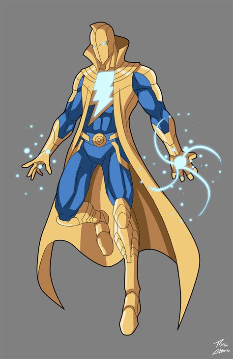 the marvel aka white wizard of fate commission by phil cho