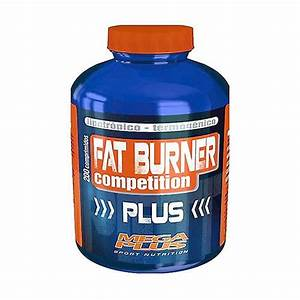 Fat Burner Plus Competition 200 Tablets Of 1 8g