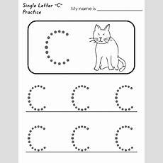 Free Printable Preschool Worksheets Letter C  Small Letter B Worksheet  Printable Preschool