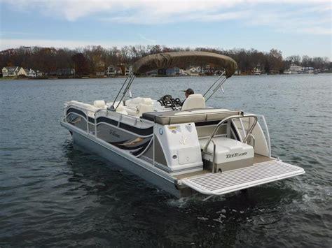 Tritoon Boats Price by 2016 New Jc Tritoon 266 I O Tritoon Pontoon Boat For Sale