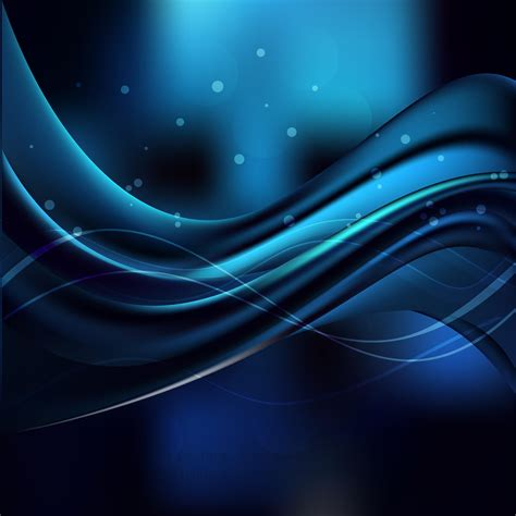 Original Blue Black blue black wave background design