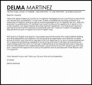immigration paralegal cover letter sample cover letter With immigration paralegal resume