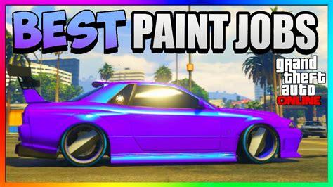 gta    rare paint jobs sexy car color