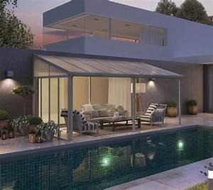 Terrassenüberdachung Mit Seitenwand : palram terrassendach ~ Whattoseeinmadrid.com Haus und Dekorationen