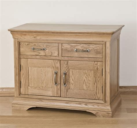 Small Dining Room Sideboard by Toulon Solid Oak Furniture Small Storage Living Dining