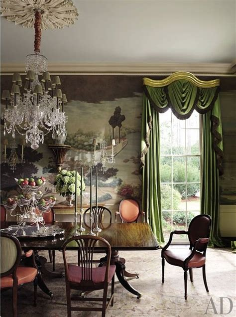 dozen times arch digest  totally rocked chinoiserie