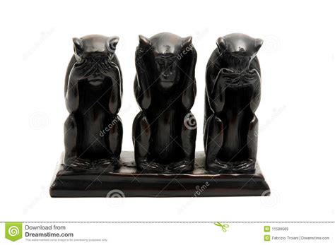 three wise monkeys stock of still three 11589569