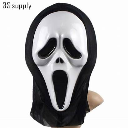 Mask Halloween Scary Scream Funny Masks Face