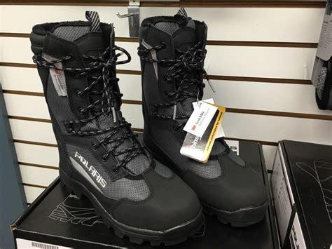polaris switchback snowmobile boot black mens pn
