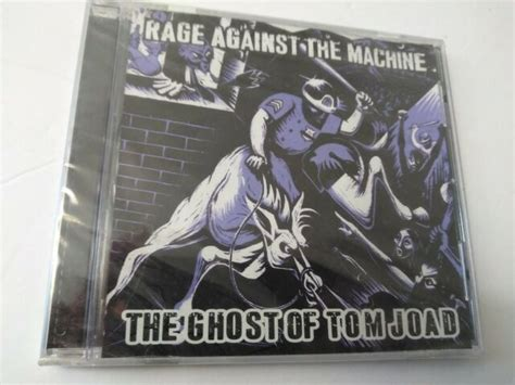 Rage Against The Machine The Ghost of Tom Joad CD NEW ...