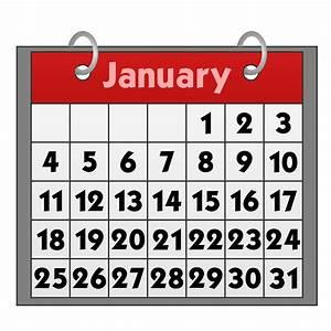 Calendar clip art free calendar clipartcow - Clipartix