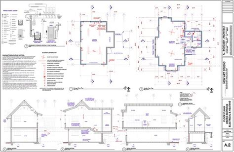 floor plans cross sections radiant floor heating
