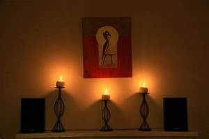 File:Interior lighting, Diwali Decor with Candles jpg