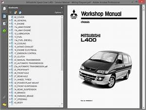 Mitsubishi Space Gear L400 - Service Manual