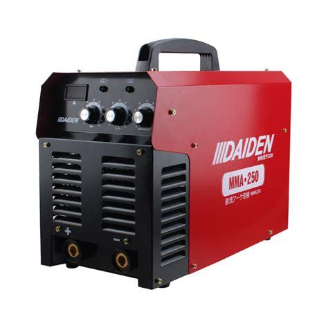 daiden welding inverter machine mesin las mma 250