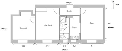 chambre en enfilade vers une rénovation passive d 39 un appartement aménagement