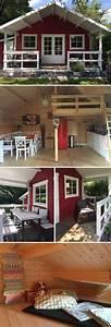 Schlaf Gut Schwedisch : aufgebaut und eingerichtet gartenhaus toronto 44 mit schlafboden gartenlaube ~ Buech-reservation.com Haus und Dekorationen