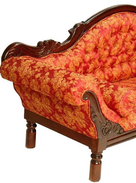 canap style colonial canap style colonial acajou tissu grignon meuble de