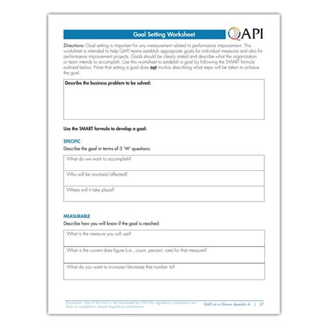 qapi templates qapi goal setting worksheet atom alliance