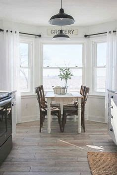 what are colors for kitchens transitional bay window breakfast nook is filled with a 9610