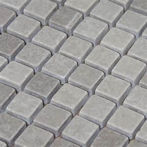 Stone mosaic tile gray patterns bathroom wall marble for Marble backsplash tile patterns
