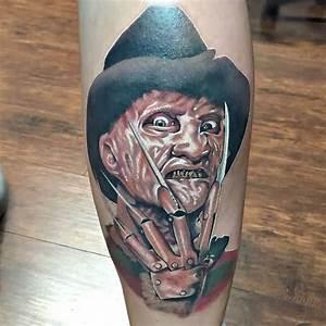 25+ 3D Freddy Krueger Tattoos