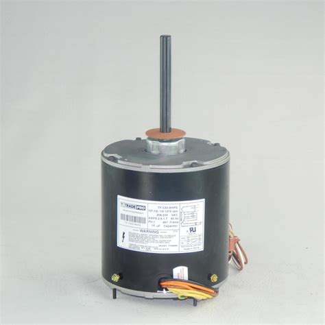 Ceiling Fan Motor Capacitor Home Depot by Tradepro Replacement Condenser Fan Motor 1 2 Multi