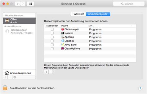 Programm Mac by Programme Unter Mac Os X Automatisch Startnen Der Tutonaut