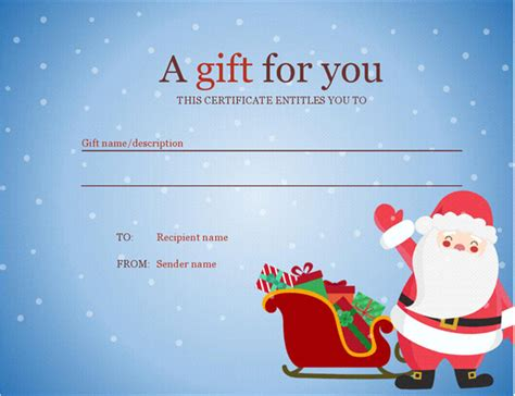 christmas cleaning templates christmas gift certificate christmas spirit design