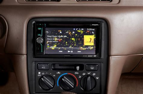 advantages   touchscreen stereo   car
