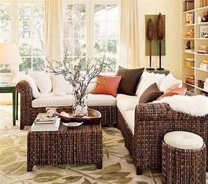 Wicker living room furniture for Cane furniture for living room