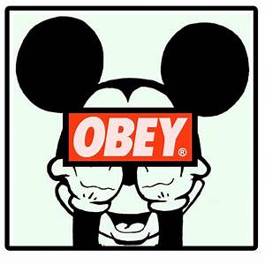 Obey Mickey Mouse Wallpapers Obey Mickey Mouse Hands Image ...