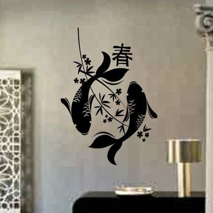 japanese wall design wall decal quotes japanese wall art cool japanese inspired wall art murals decor